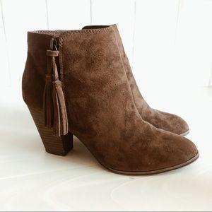 Merona Fringe Ankle Boots